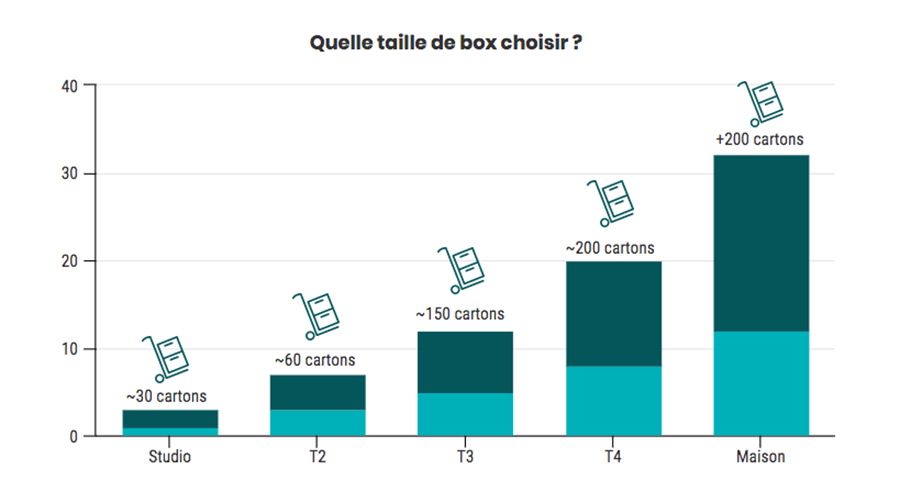 infographie taille box
